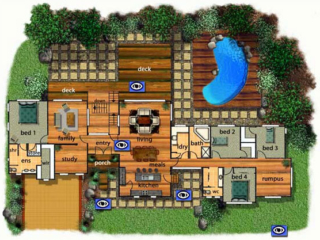 Pole Home 4 bedroom design - Concept 10