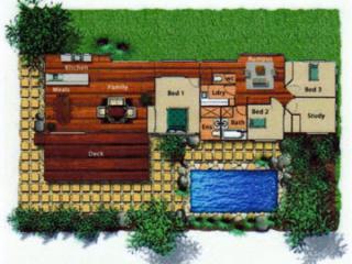 Pole Home 3 bedroom design - Concept 11