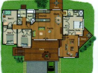 Pole Home 4 bedroom design - Concept 2