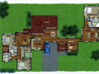 Pole Home 4 bedroom design - Concept 9