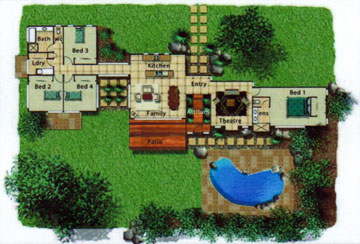 Pole Home 4 bedroom design - Concept 12