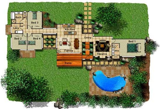 Pole Home 4 bedroom design - Concept 13