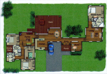 Pole Home 4 bedroom design - Concept 9